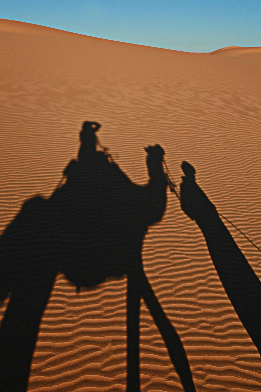 Autorretrato en el Sahara