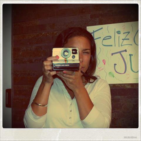 Yo y mi Polaroid