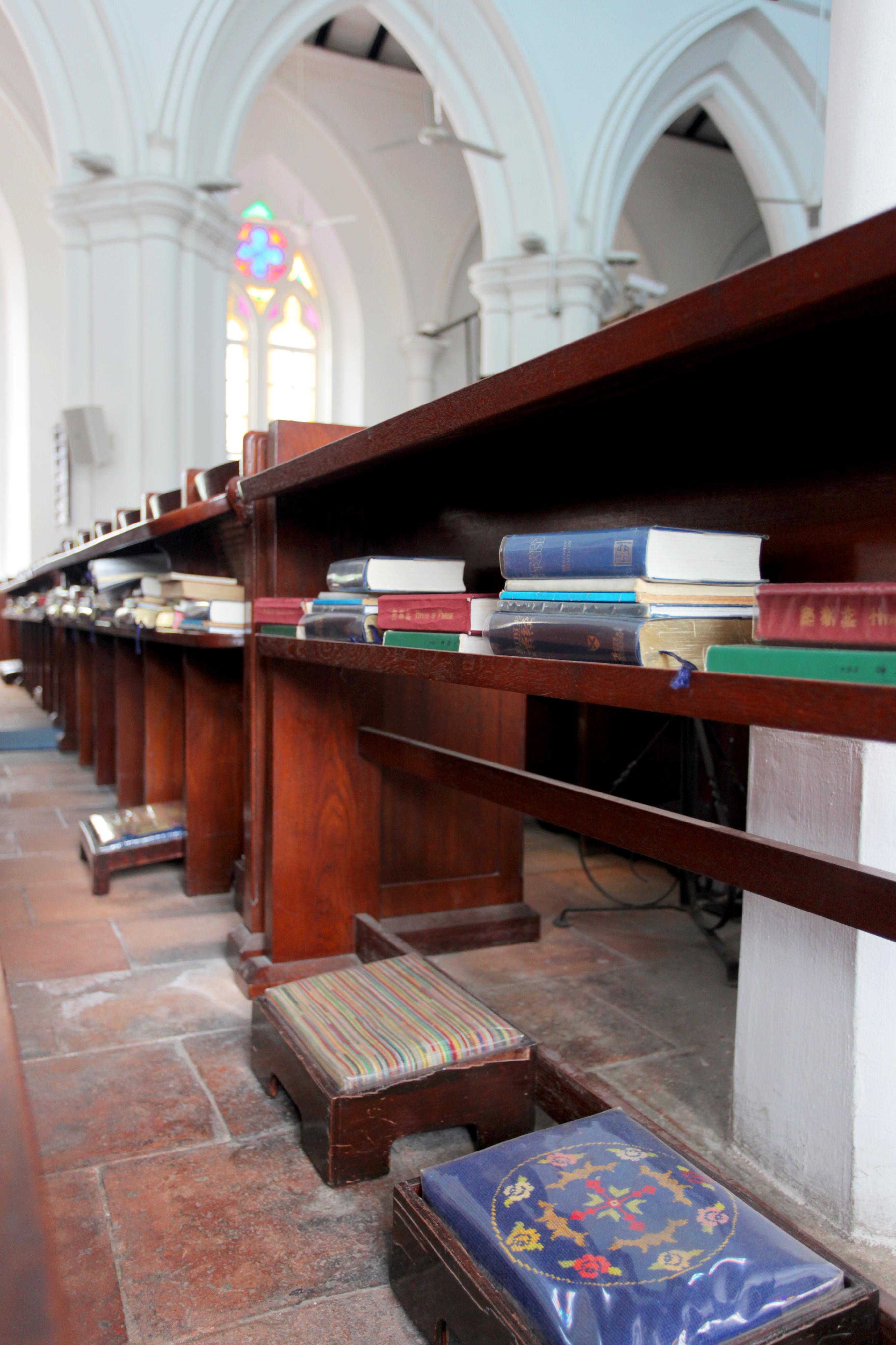 Interior de iglesia católica