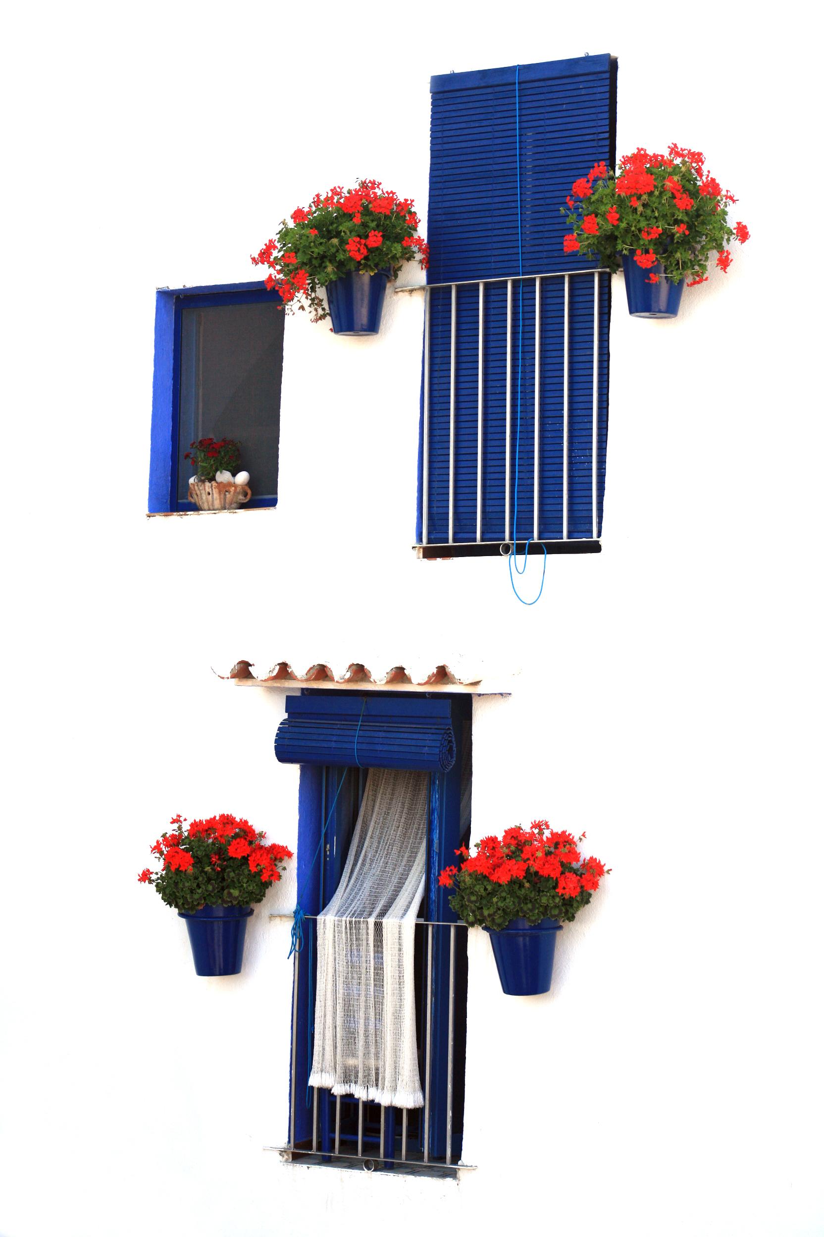 Tres ventanas Peñiscola,España.